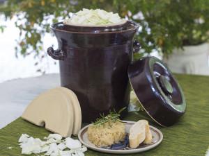 Rezept Sauerkraut im Gärtopf