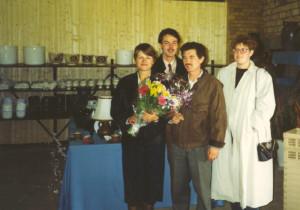 Eröffnung Keramikscheune-1-10-1991